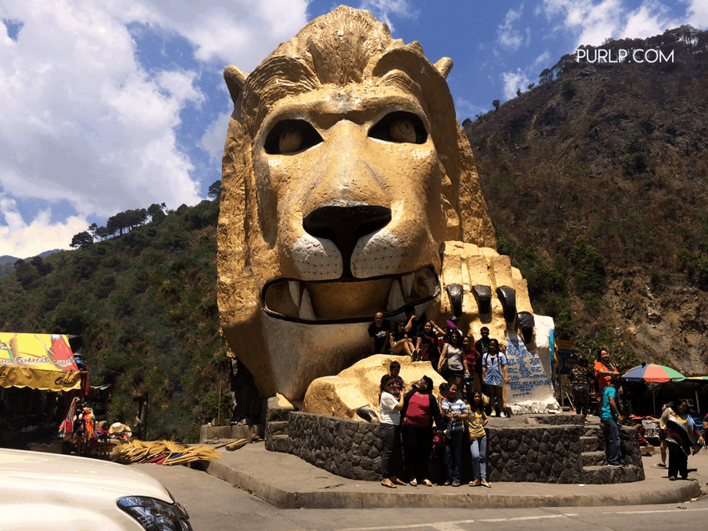 The Lions Head is a statue along Kennon Road