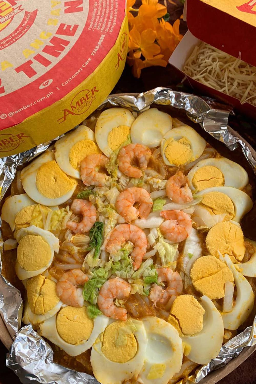 Amber Golden Chain of Restaurants Pancit Malabon and Pichi-pichi